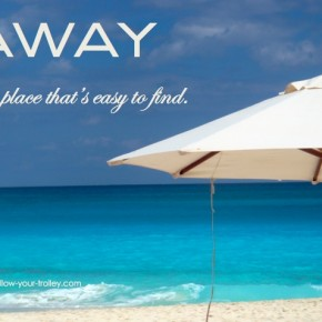 FYT Inspiration #1: AWAY is a place that's easy to find.