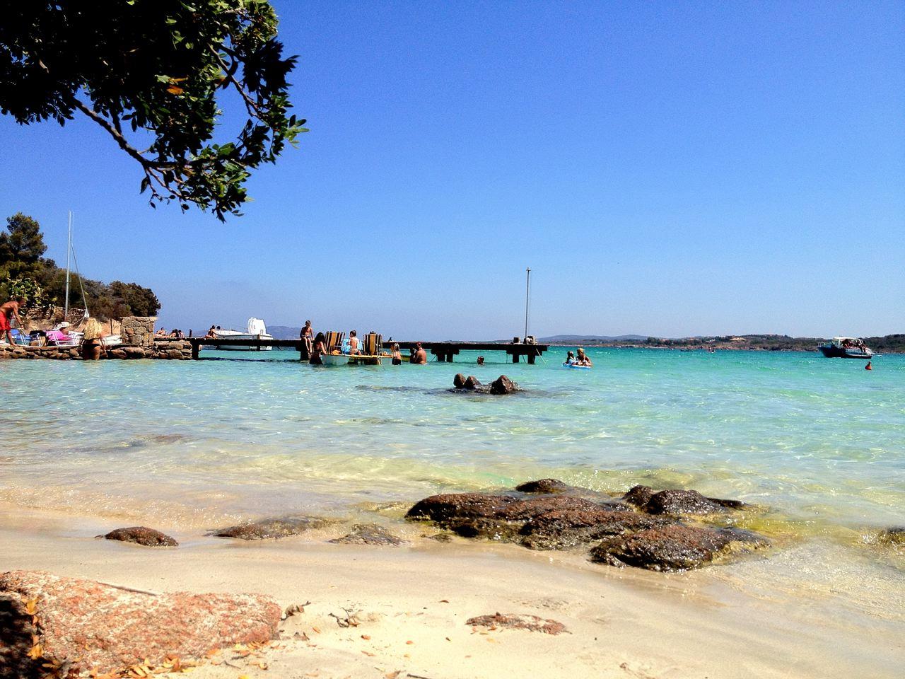 Weißer Strand Sardinien