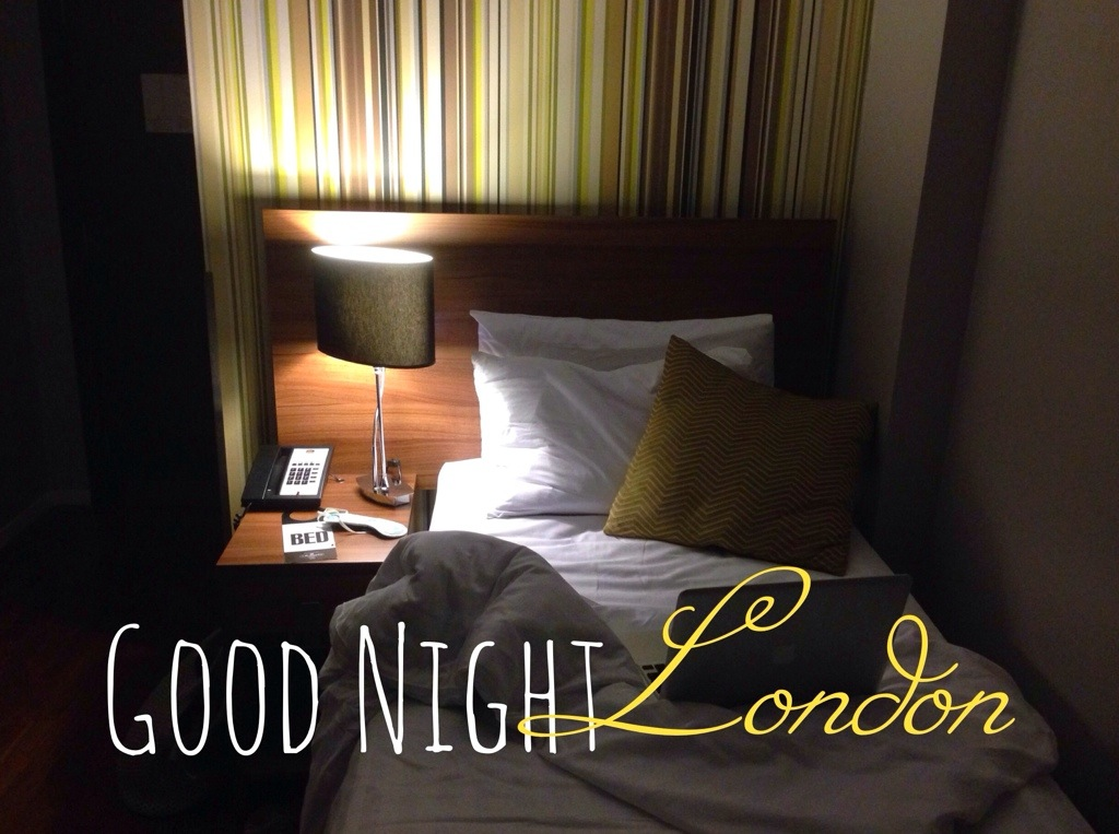 Good night London - Mornington Hotel Hyde Park