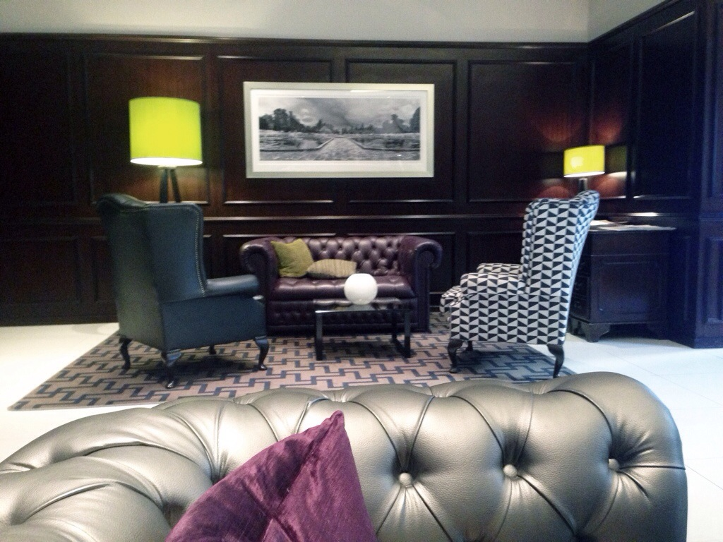 Lobby im Mornington Hotel Hyde Park London