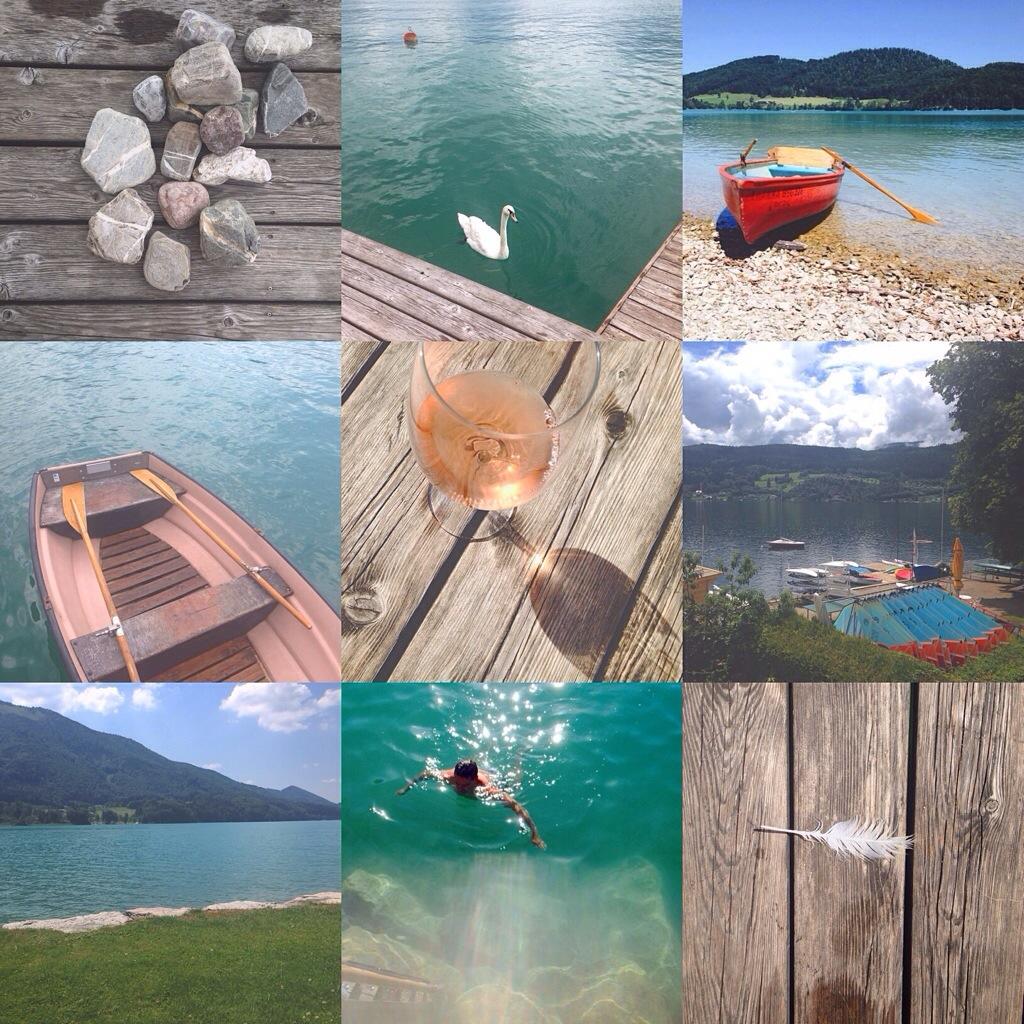 Urlaub am See: Salzkammergut und Kärnten