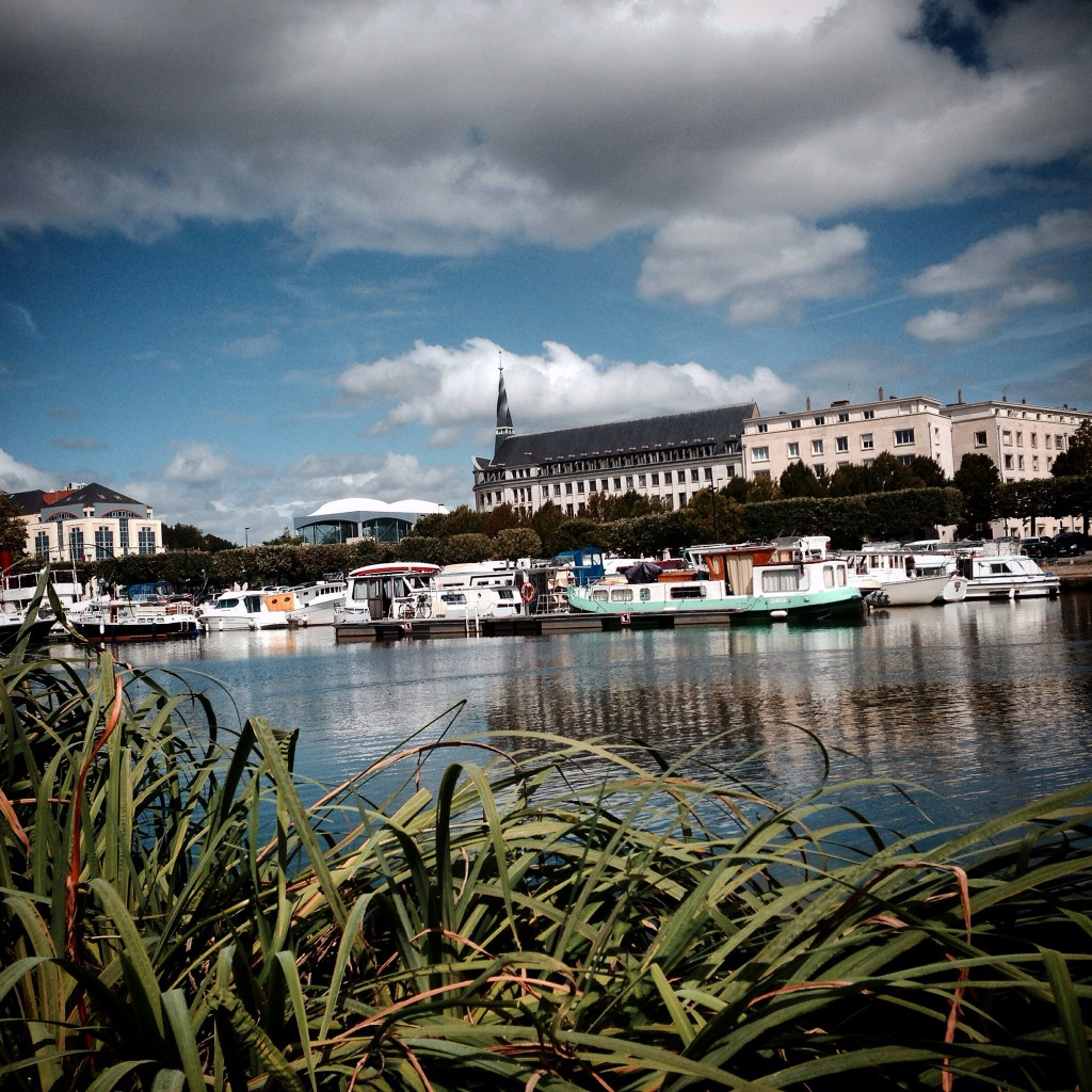 Nantes Ufer Loire