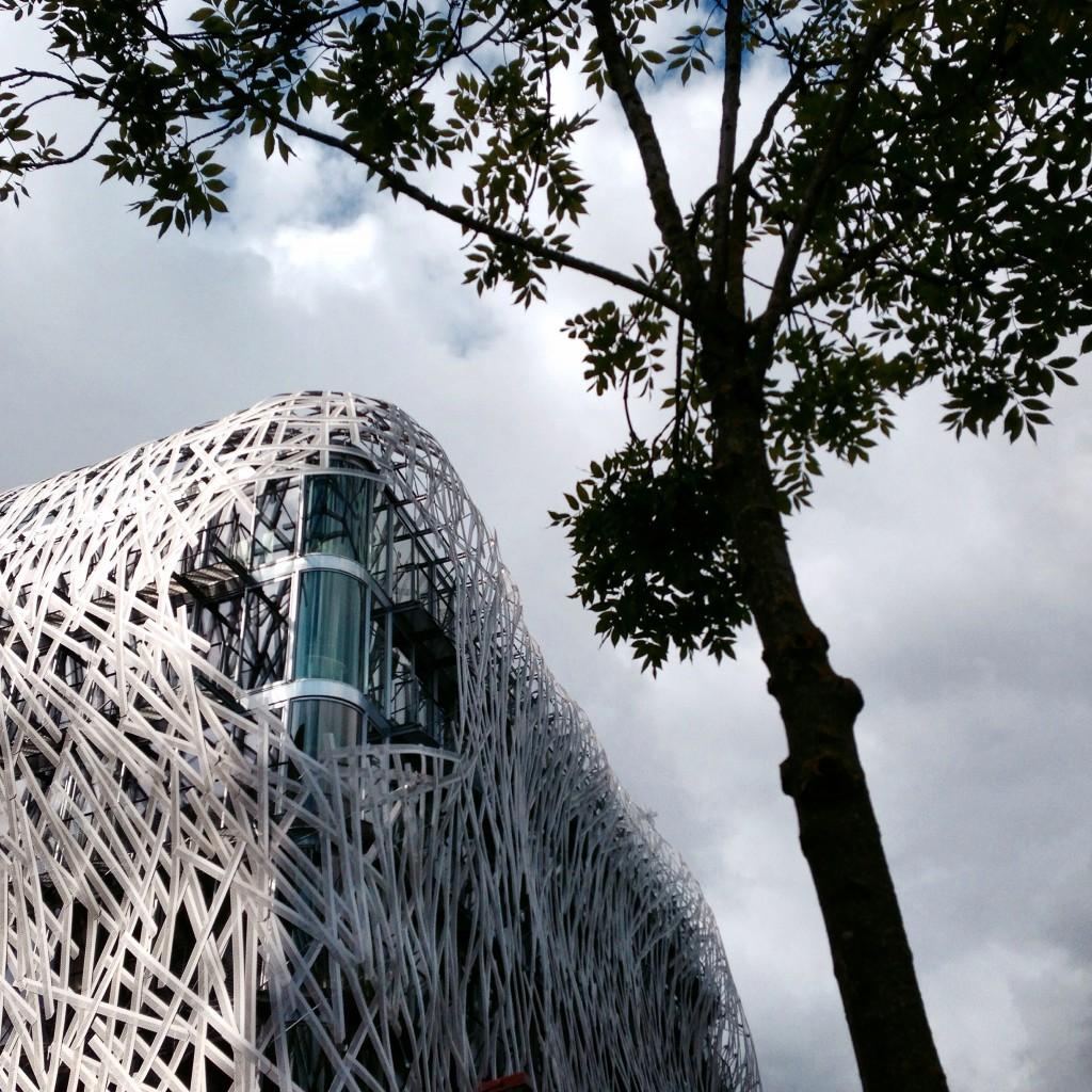 Moderne Kunst und Architektur auf der Ile de Nantes