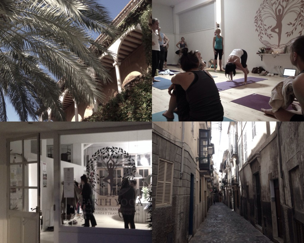 Earth Yogastudio in Santa Catalina, Palma de Mallorca