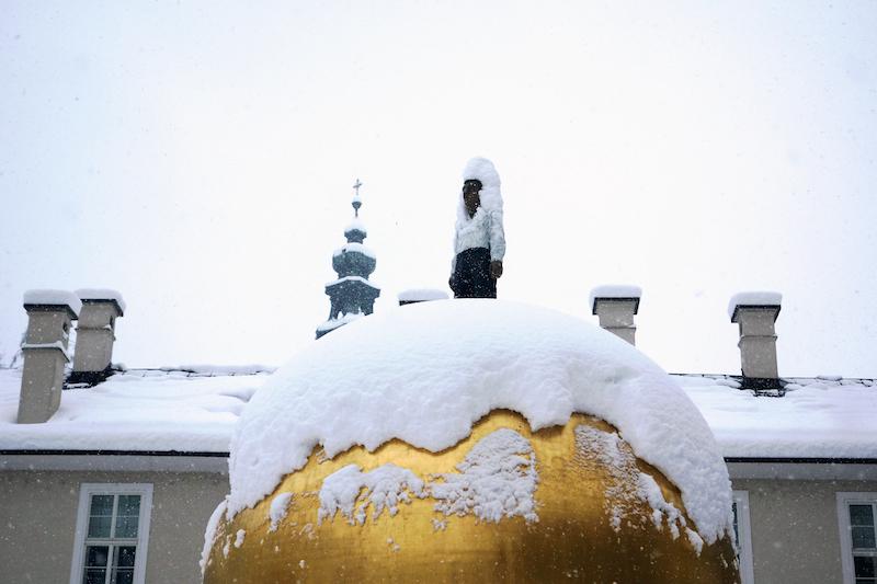 Spaera Kapitelplatz Salzburg Goldene Kugel