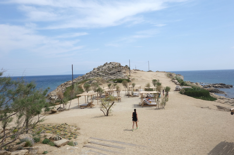 halbinsel paraga beach scorpiios mykonos