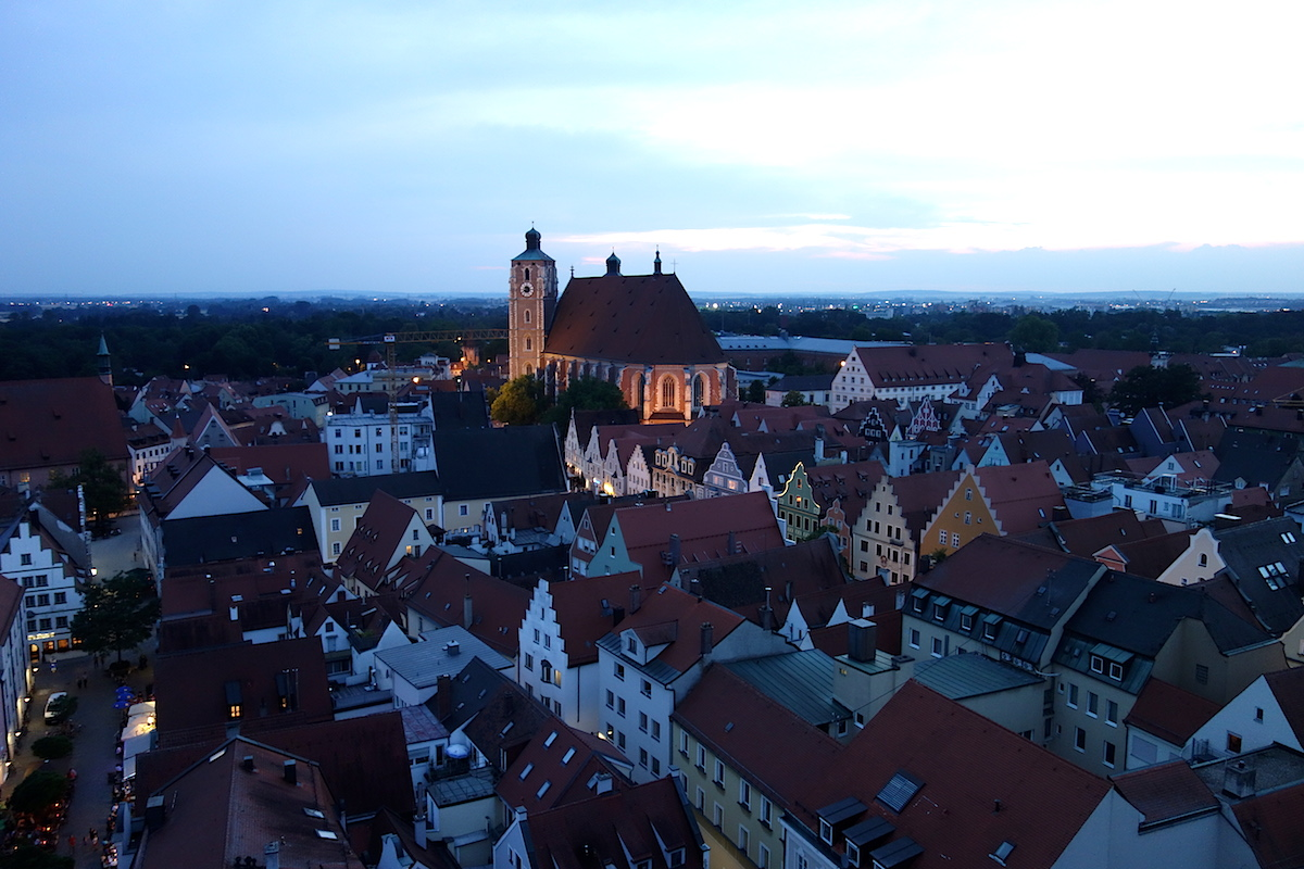 Blick vom Pfeifturm Ingolstadt Donau