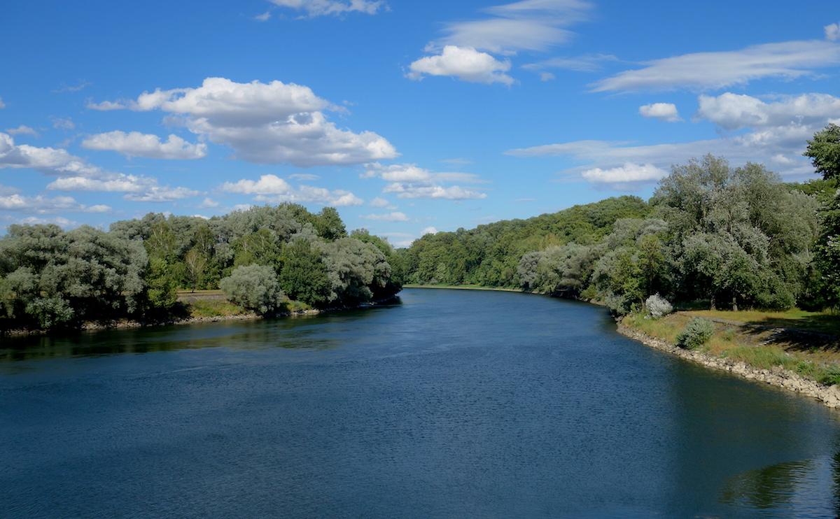 Neuburg an der Donau Mountainbiketour Brücke