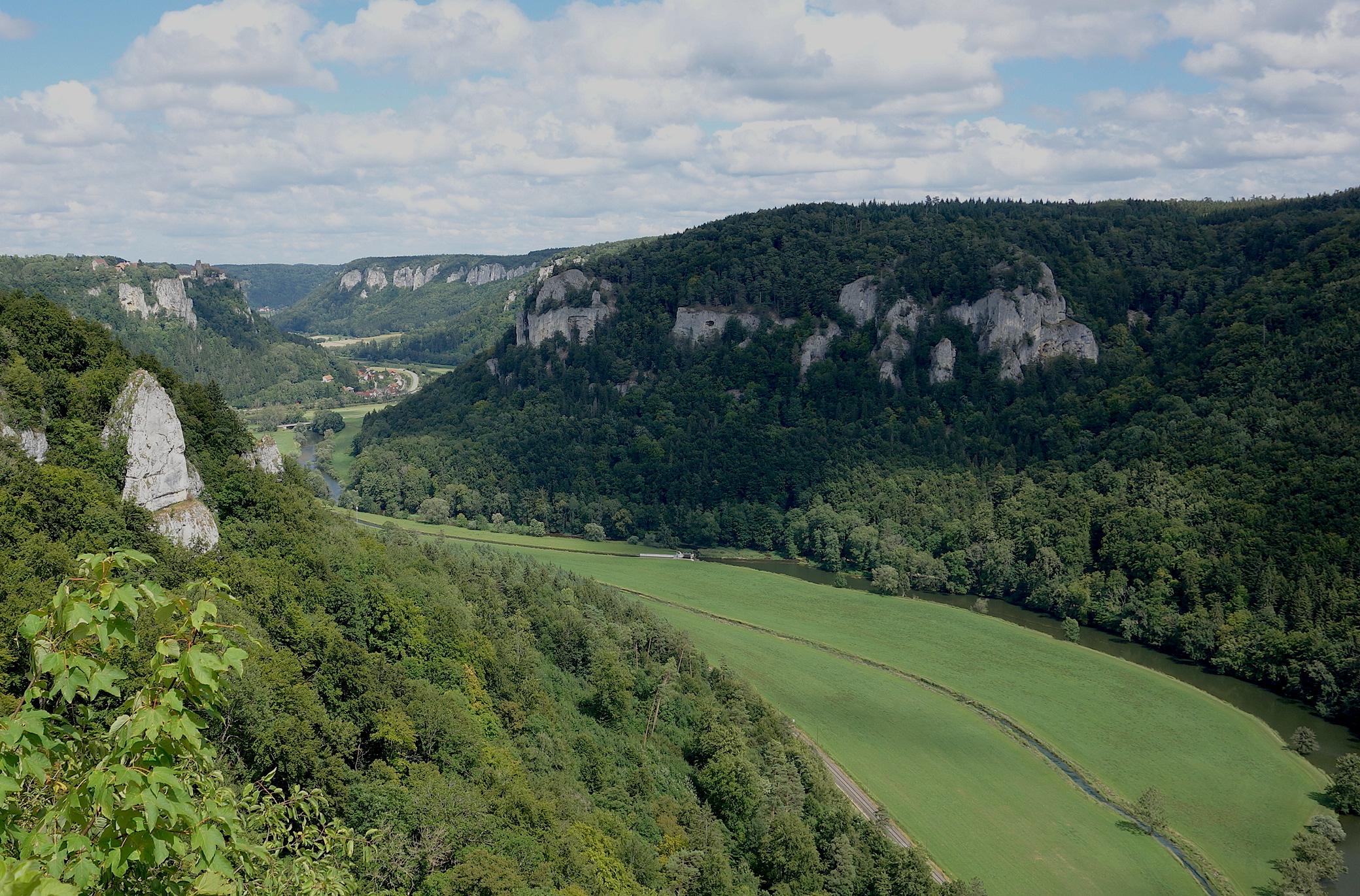 Donauradweg Beuron Fridingen Natur