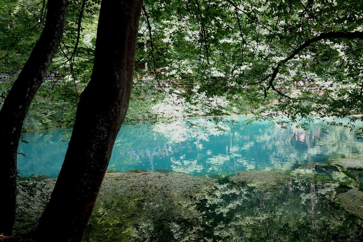 Junge Donau Blautopf Blaubeuren