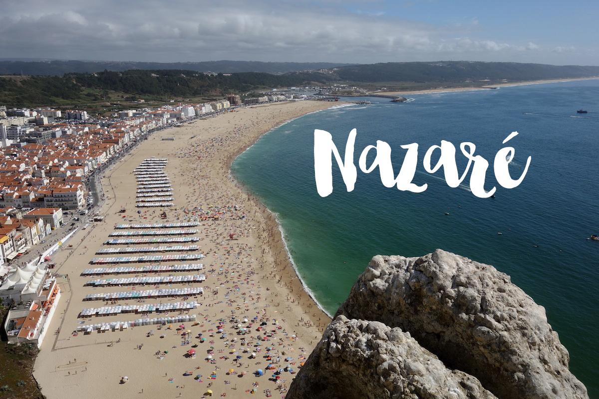 Strand Nazare Portugal_titel