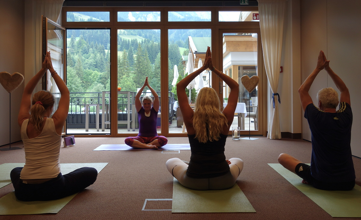 Yogawochenende Hotel Forsthofgut Leogang