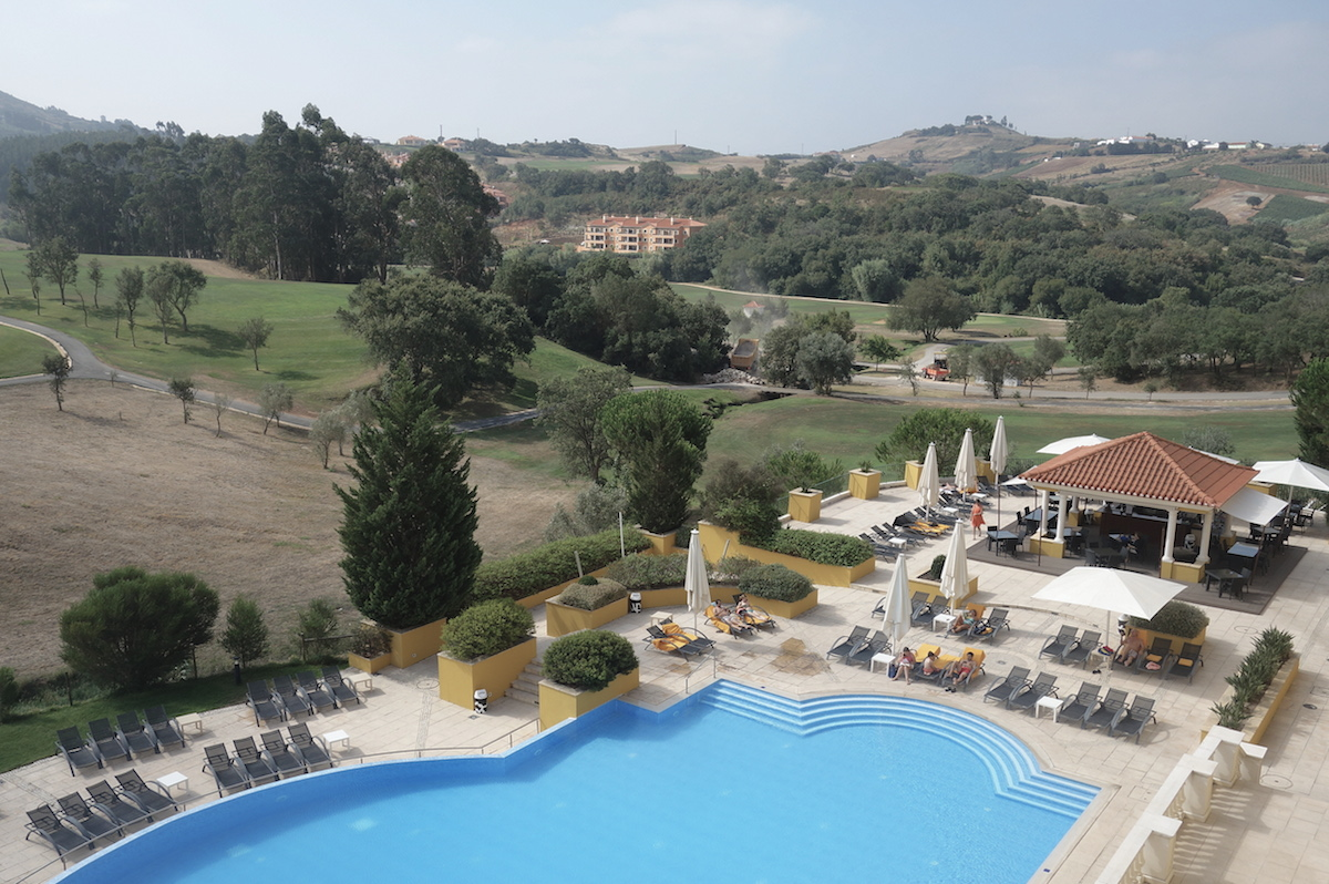 Golfhotel mit Pool Torres Vedras Portugal