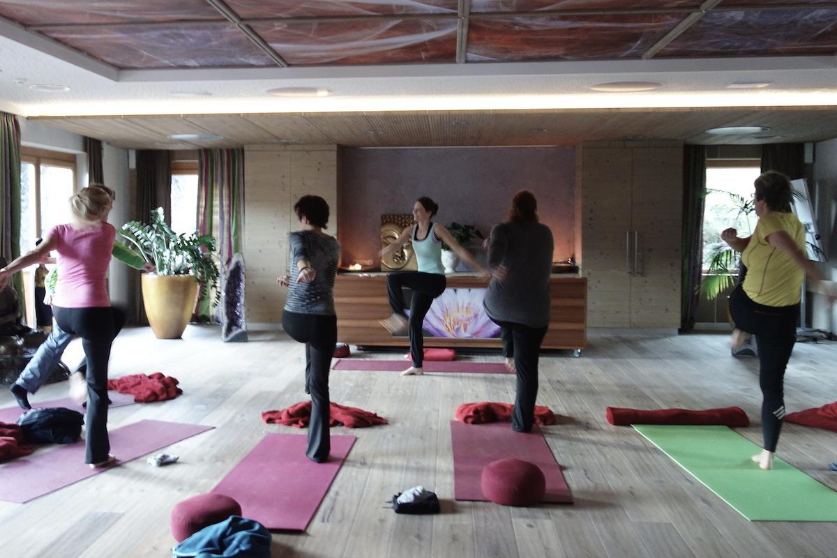 Detox Yoga im Stockresort