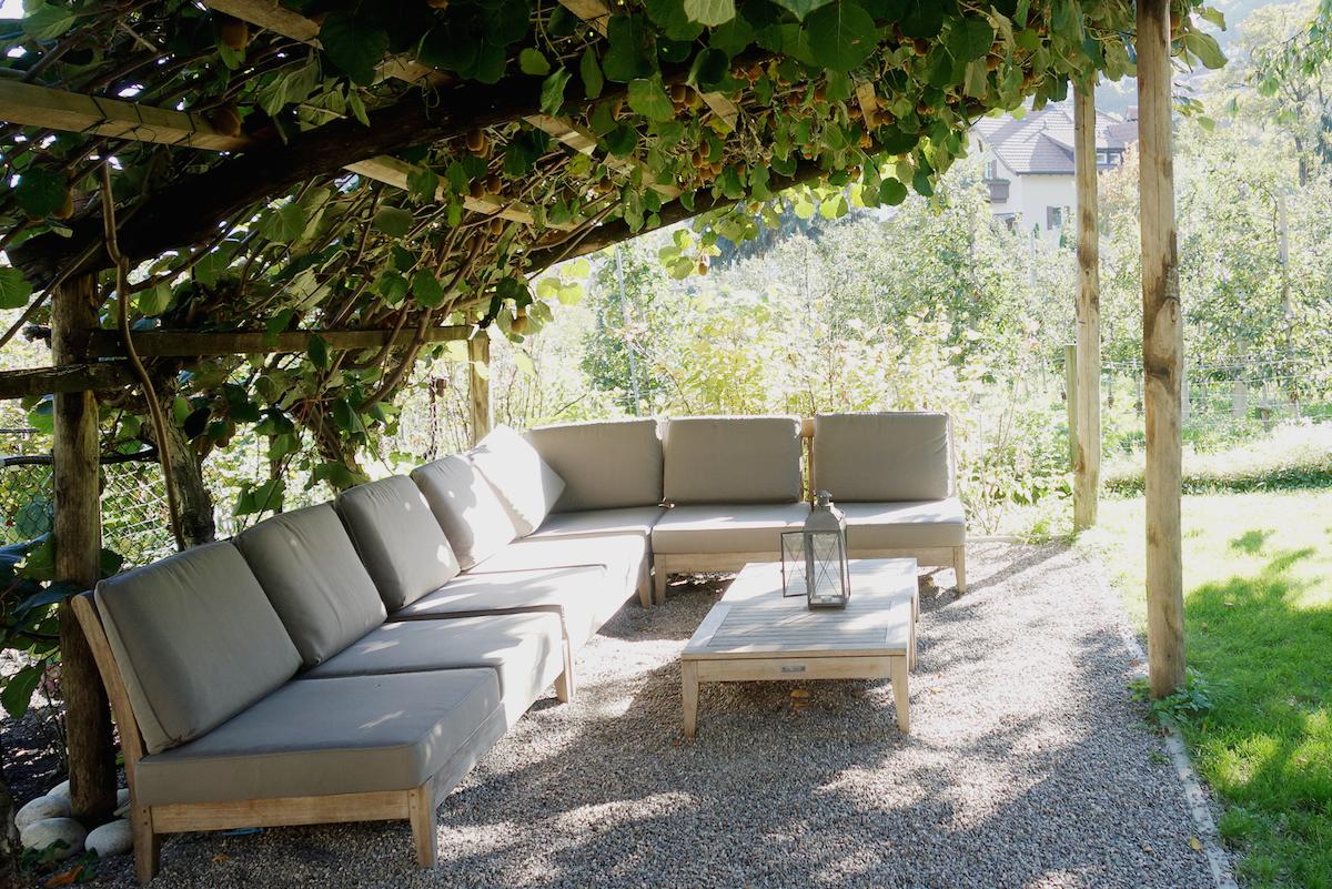 Garten Hotel Schwarzschmied Lana Sudtirol