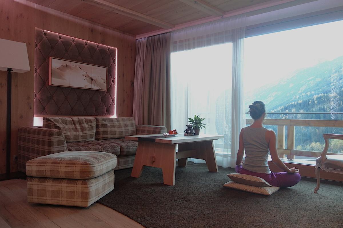 Meditation Alpine Lodge Stockresort