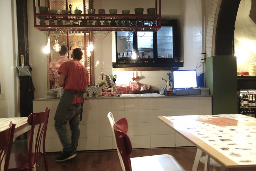 Traditionelles Restaurant Thessaloniki