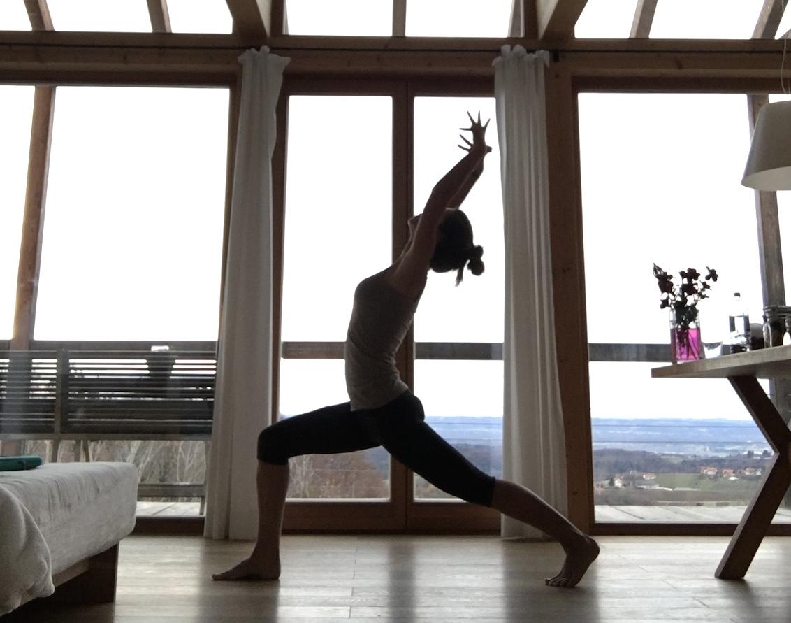yoga unterwegs ferienhaus steiermark