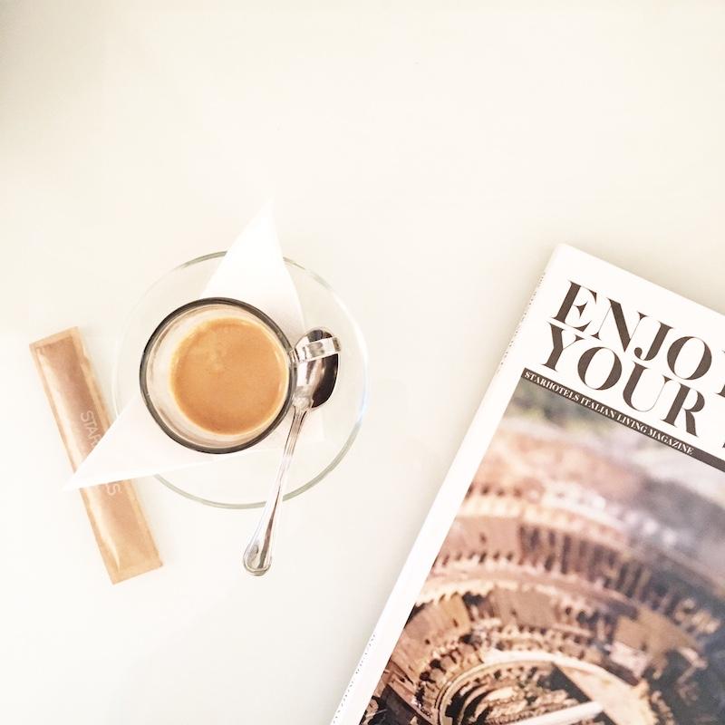 espresso und magazin italien