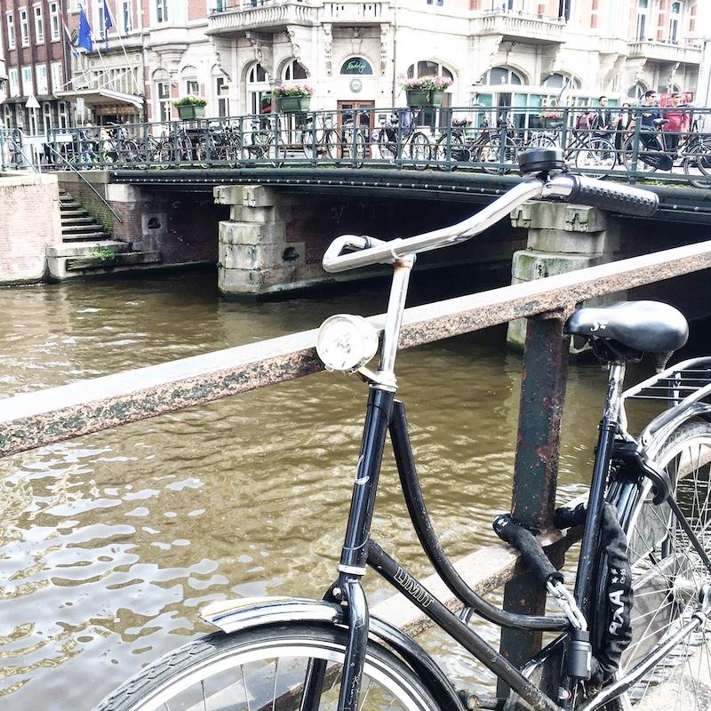 Amsterdam Fahrrad Gracht