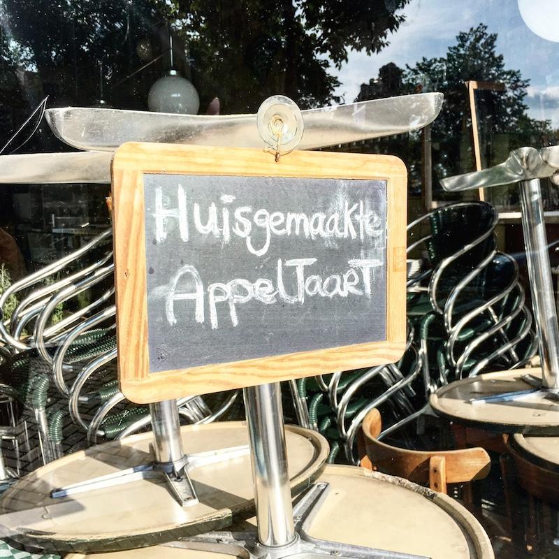 Appeltaart Amsterdam Cafe