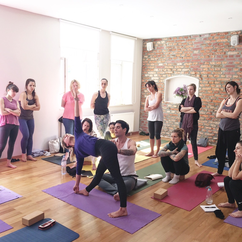 yoga workshop david regelin munich