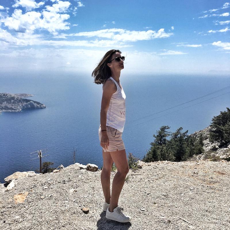 Insel Simi Greece