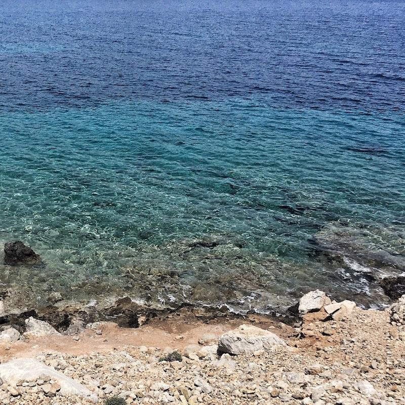Meer Symi Griechenland