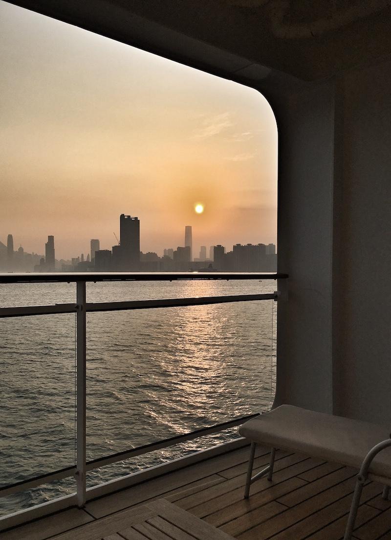 kreuzfahrt skyline hongkong