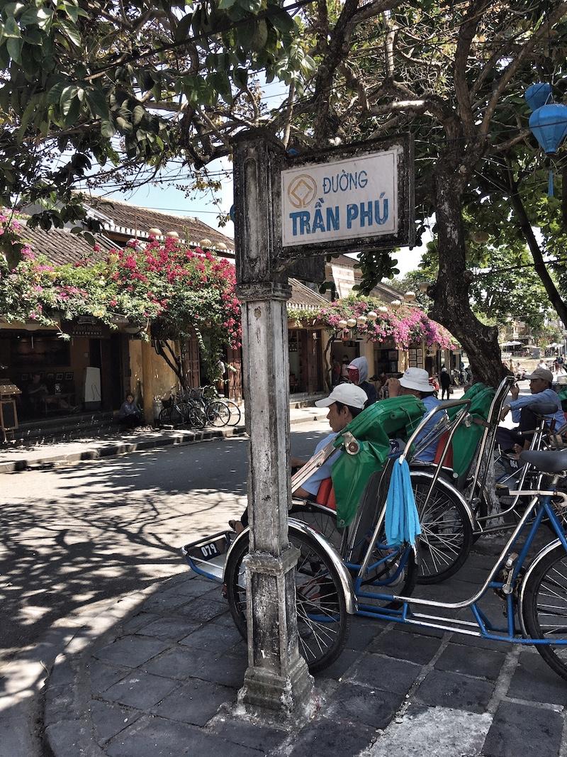 rikscha haltestelle vietnam