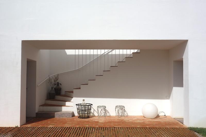 Casa Modesta Haupthaus Treppe
