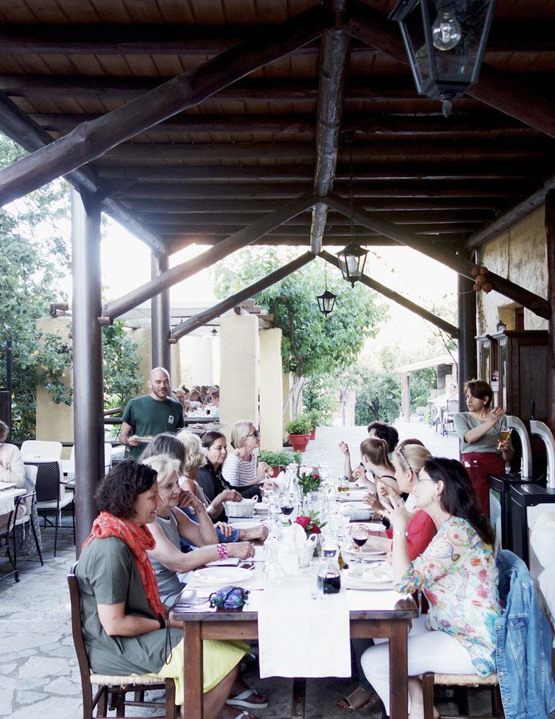 Dinner-Yogaurlaub-Kreta