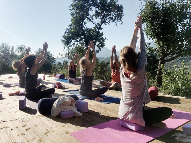 Namaste-Yogareise-Kreta