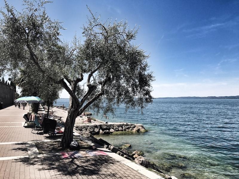 Promenade Garda am Gardasee