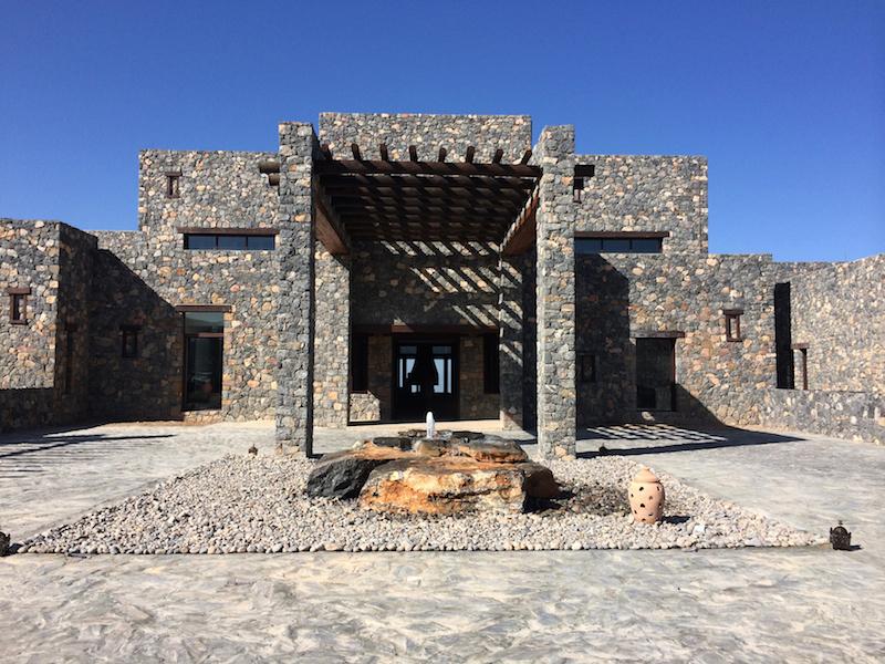 Alila Jabal Akhdar - Exterior - Porte Cochere