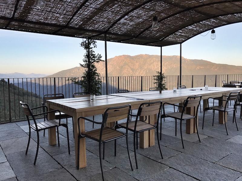 Terrasse Mandali Retreat