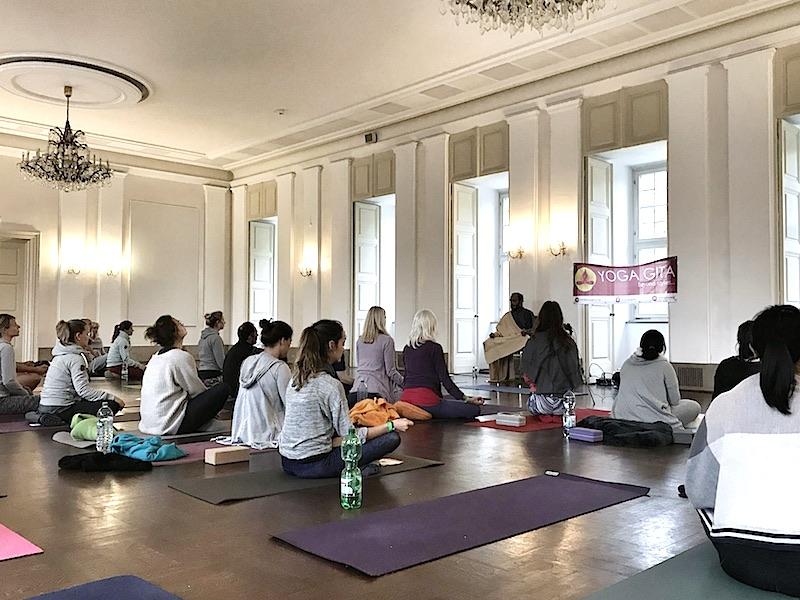 Vortrag Yogafestival Wuerzburg