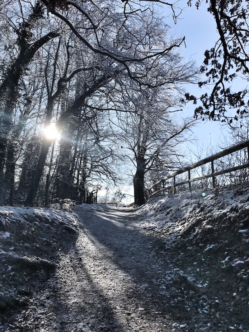 weihnachten schnee salzburg