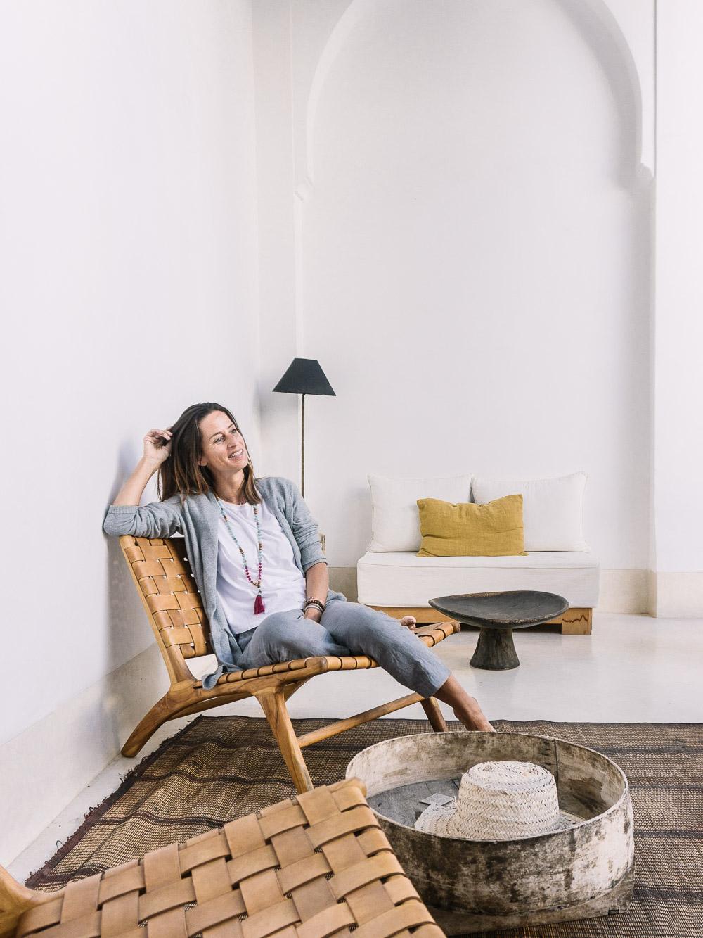 Jeanette Fuchs Bloggerin Marrakesch