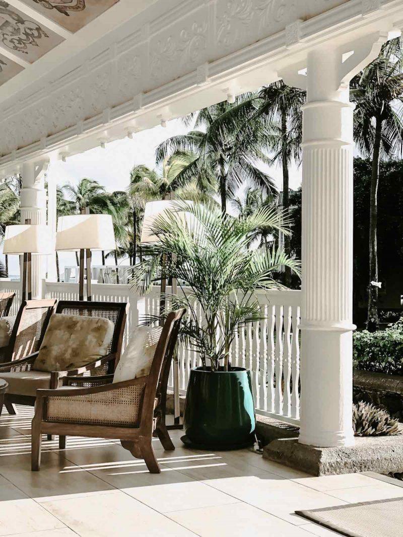 Kolonialstil Luxushotel Mauritius