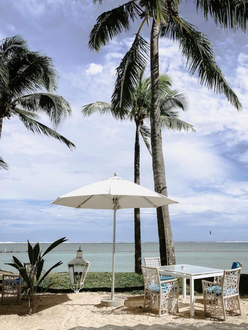Beachrestaurant Luxushotel Mauritius