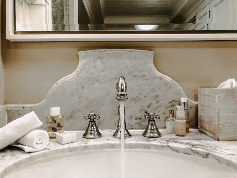 Badezimmer Luxushotel Mauritius