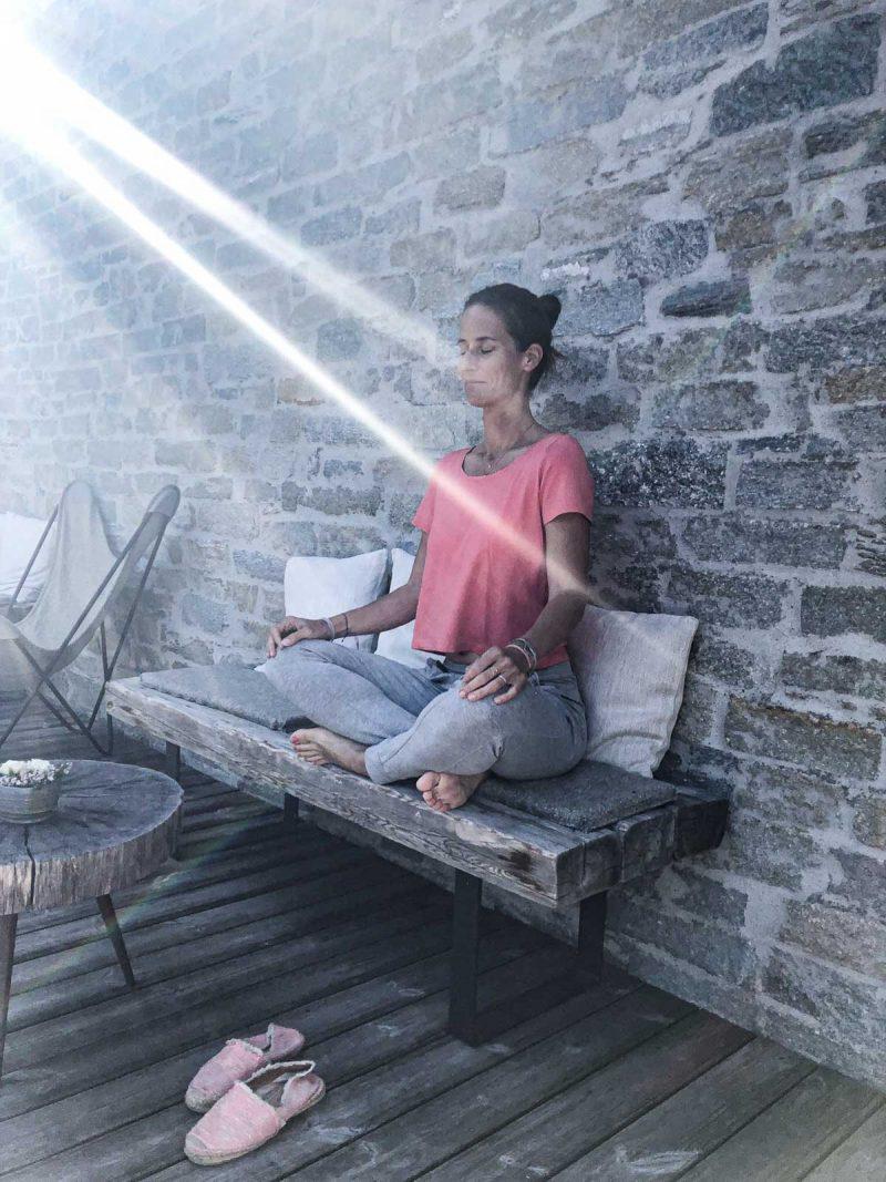 Meditation und Yoga im Hotel Wiesergut