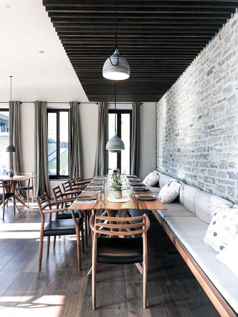 Restaurant Design Hotel Wiesergut Saalbach