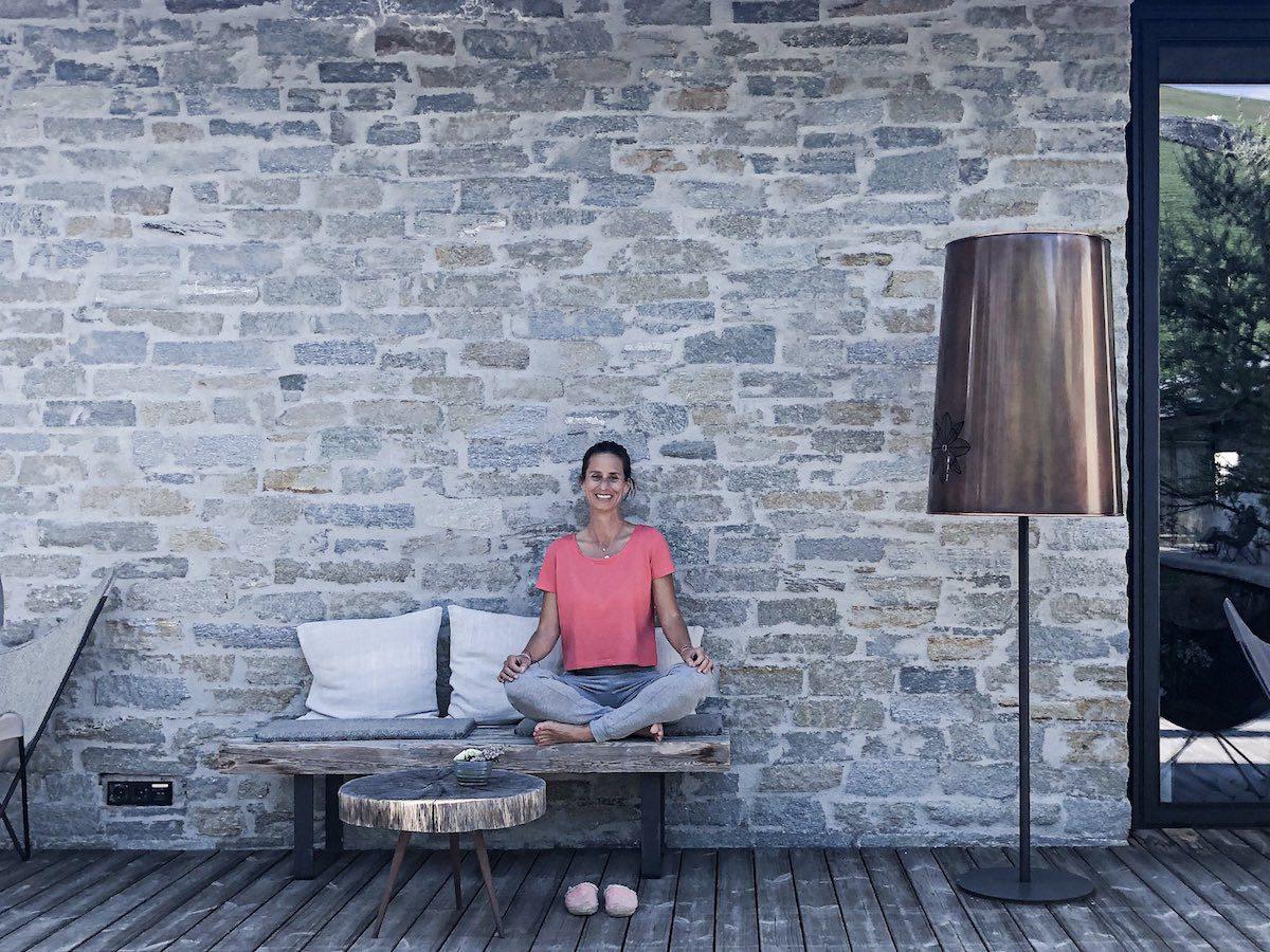 Yoga in den Bergen Designhotel Wiesergut