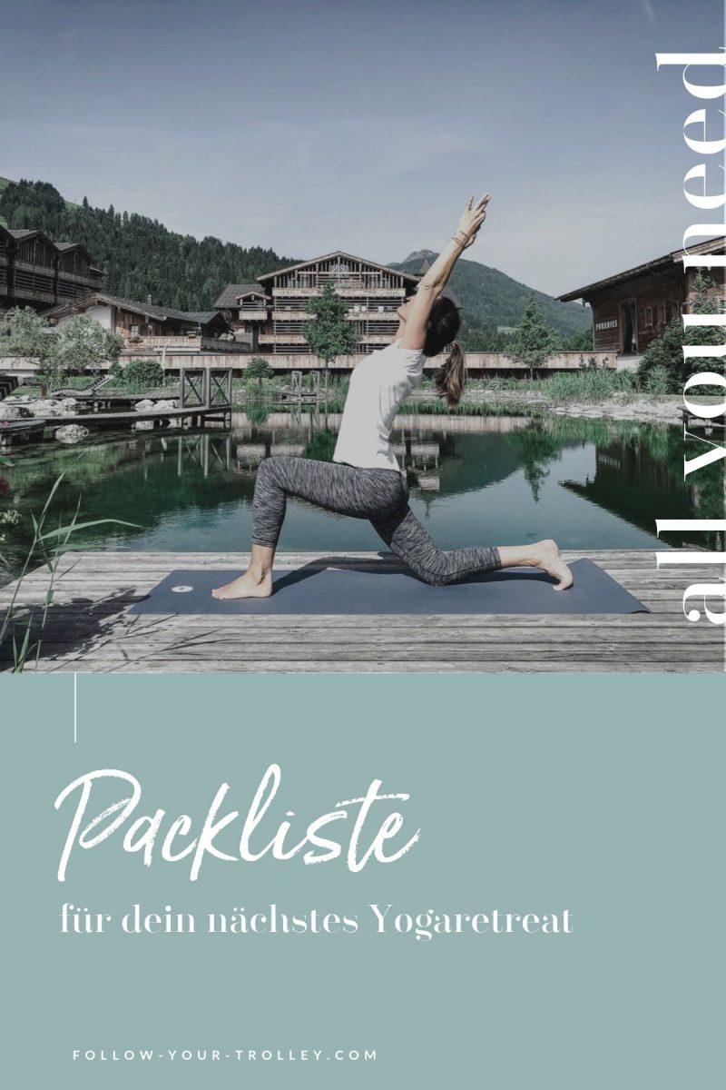 Packliste für dein Yogaretreat