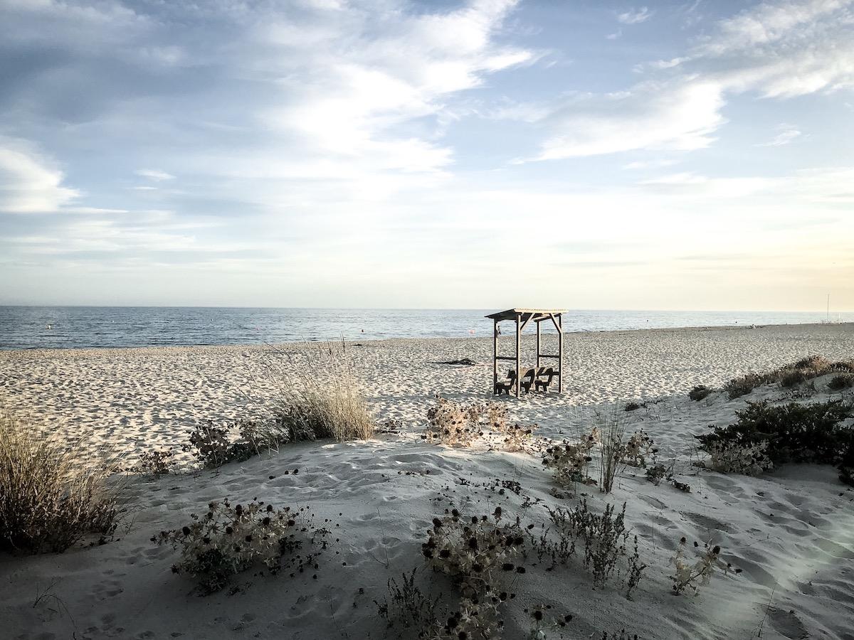Praia do Barril Algarve Meer