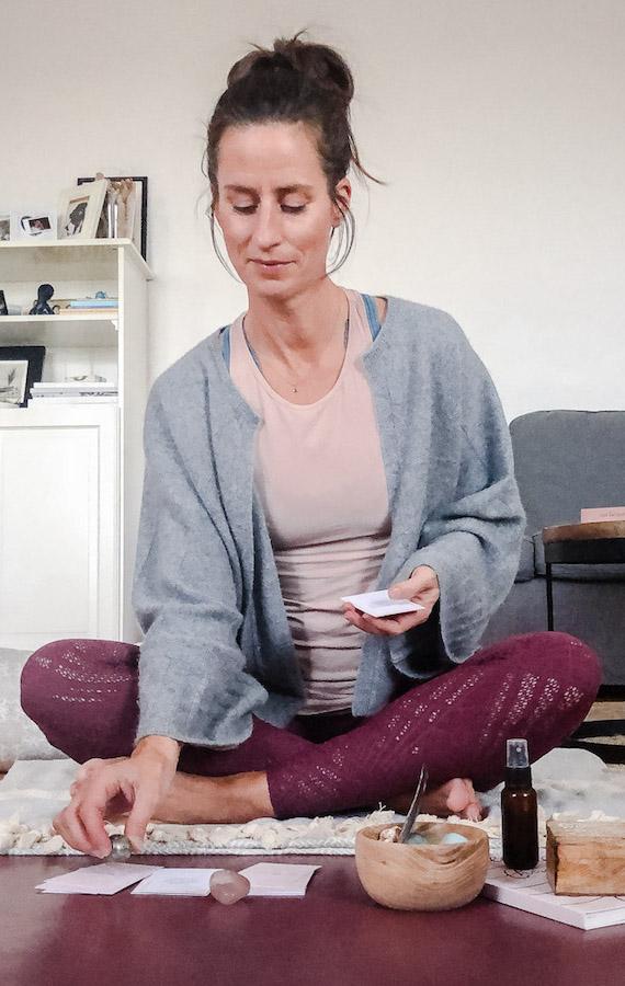 DIY Yogaretreat Auszeit daheim