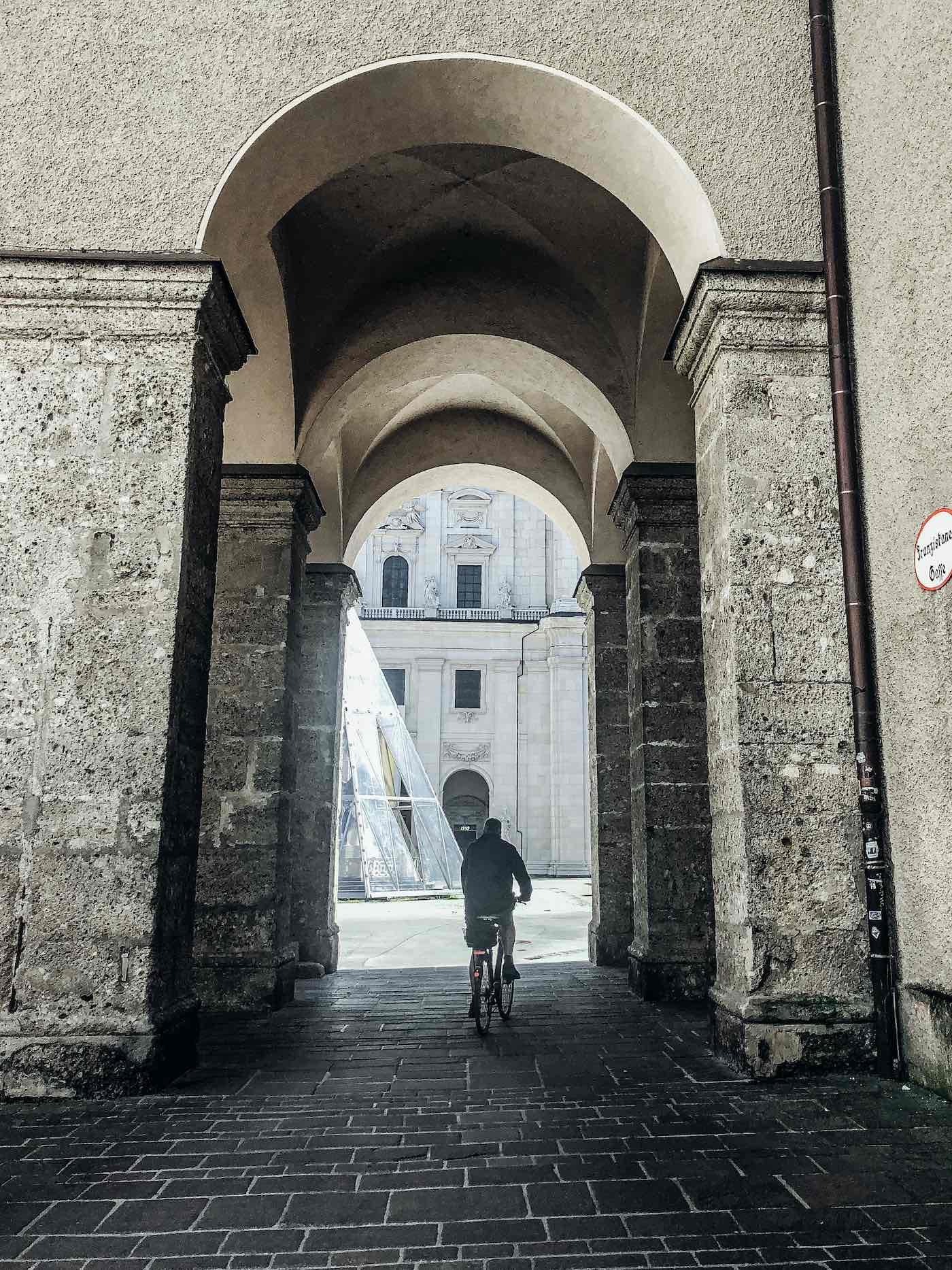 Corona Altstadt Salzburg menschenleer